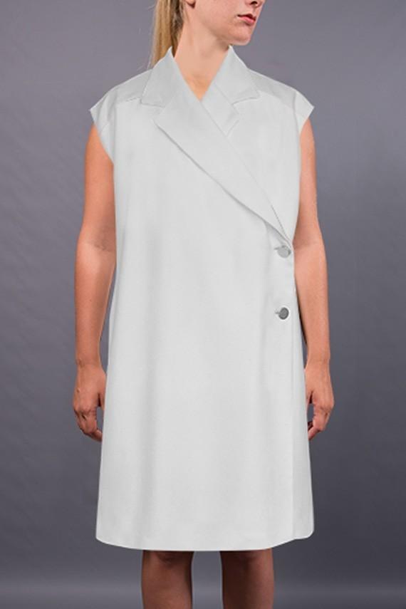 Manteau à personnaliser Maëlle vue de face détails