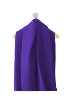 Echantillon de tissu Majorie bleu-violet hiver et mi-saison amasos