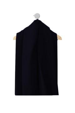 Echantillon de tissu Amasos Marjorie bleu-nuit hiver et mi-saison