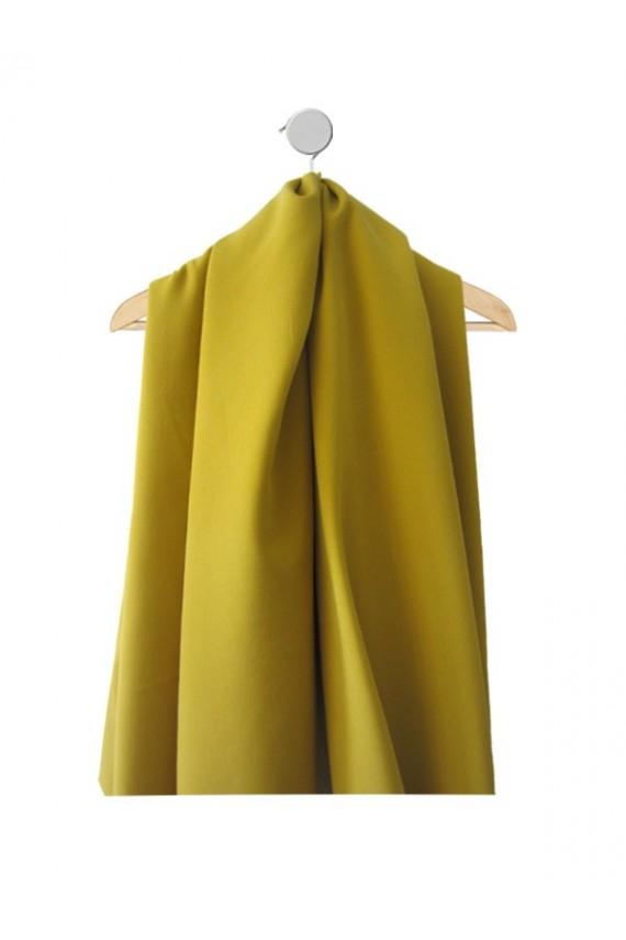 Echantillon de tissu Marjorie jaune hiver et mi-saison