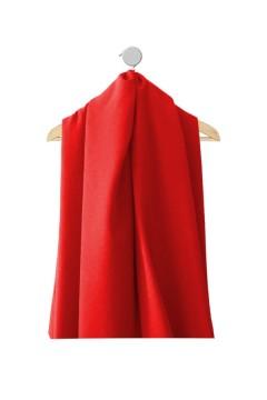 Echantillon de tissu hiver et mi-saison Marjorie rouge pour robe