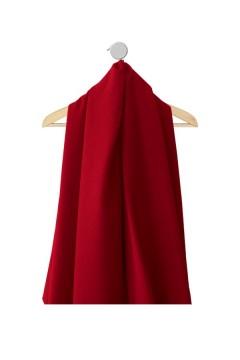 Echantillon de tissu Marjorie bordeaux pour robes personnalisés