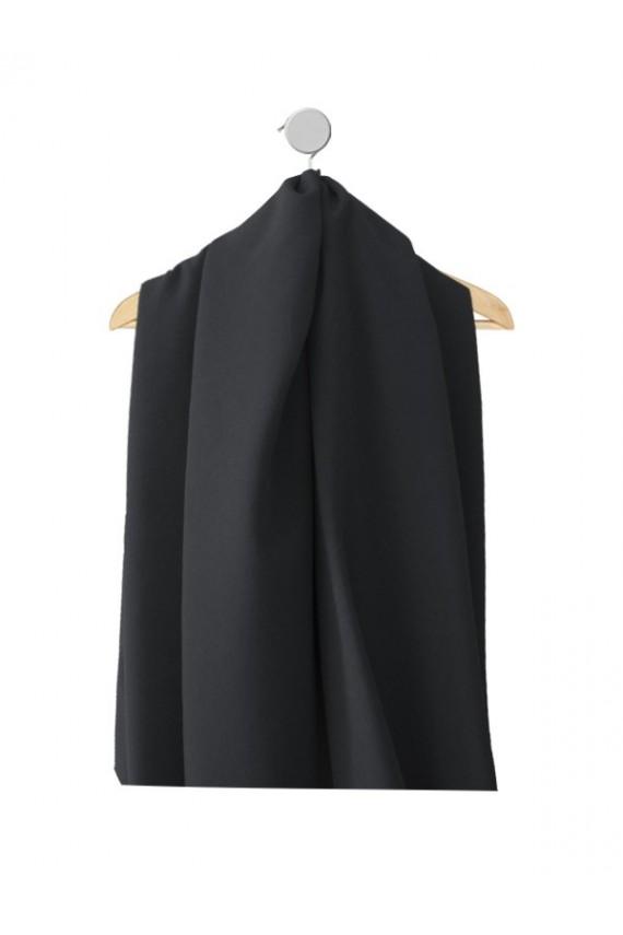 Echantillon de tissu Marjorie noir pour robes
