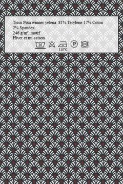 Echantillon de tissu Amasos Winner yélena pour robes Hiver et mi-saison