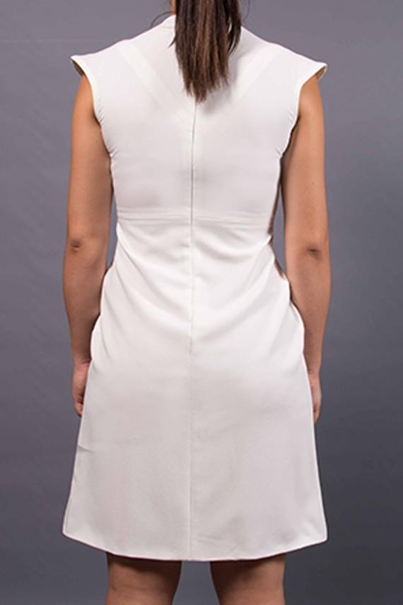 Robe personnalisée Audrey  Amasos vue de dos détails