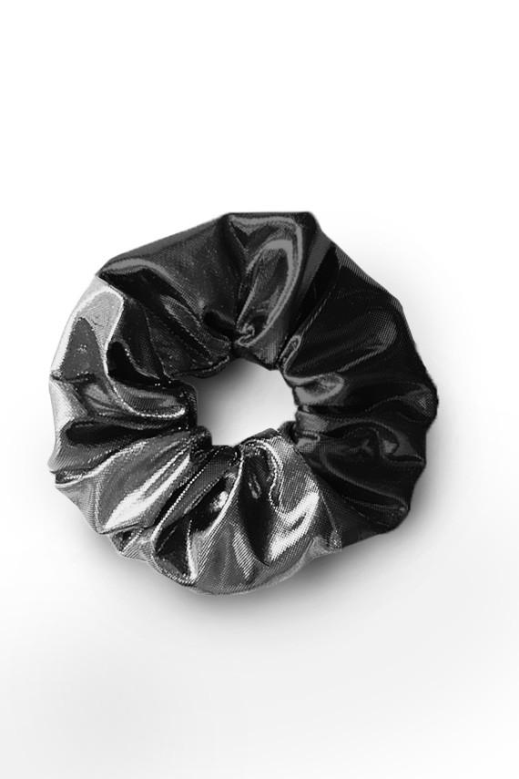 Chouchou fabriqué en France métallique brillant amasos