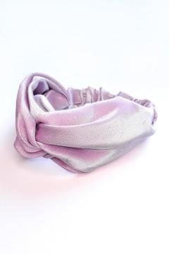 bandeau cheveux rose brillant fait main personnalisable