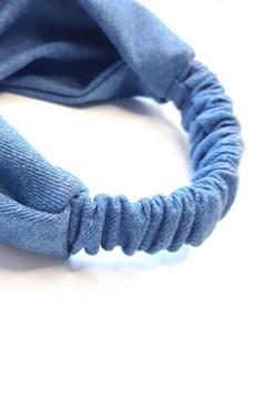 bandeau cheveux denim made in France fait main