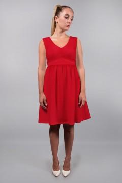 Robe rouge fabriquée en France amasos