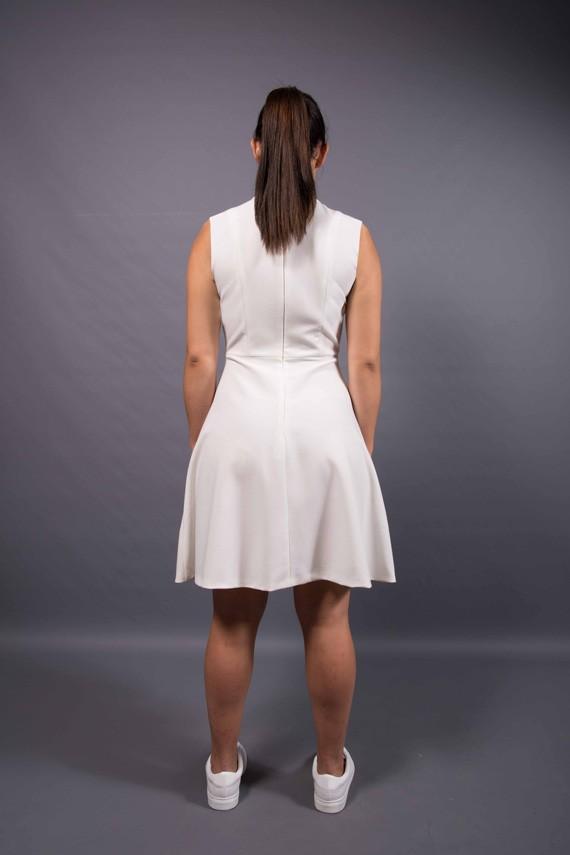 Robe à personnaliser Amandine portée vue de dos