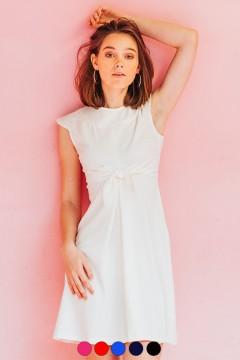 Robe  Audrey nouée à la taille à personnaliser  amasos