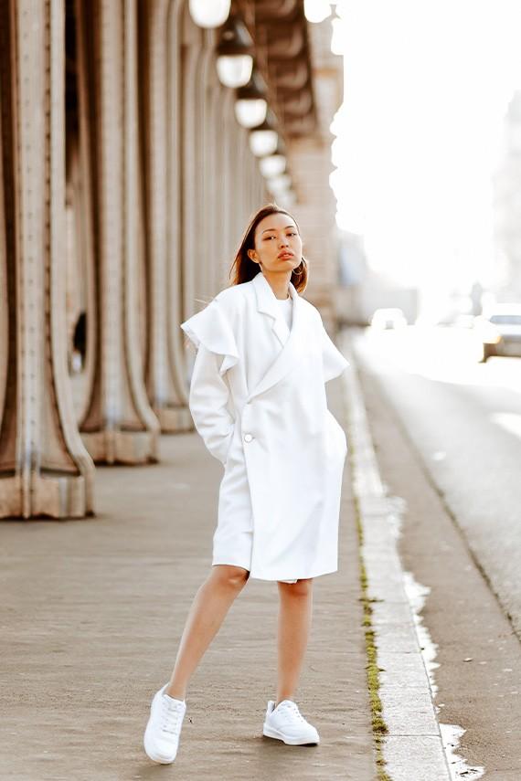 Manteau fabriqué en France Maëlle