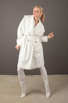 manteau avec à la taille Malorie porté amasos