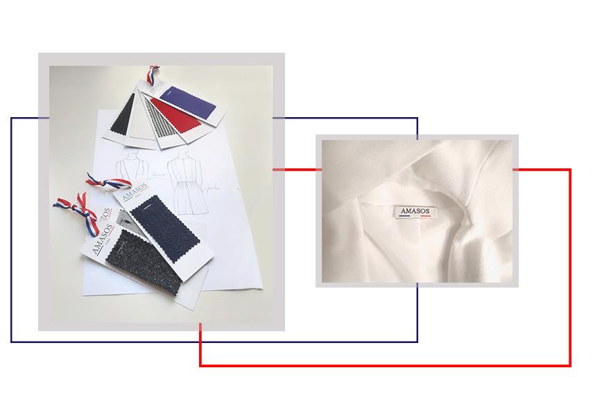 Vêtement made in France haut de gamme amasos